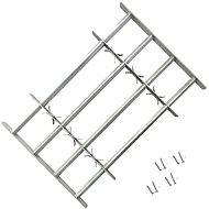 Adjustable security window grilles 2 pcs 1000-1500 mm 3057510 - Security Bars