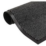 Protiprachová obdélníková rohožka všívaná 80x120cm antracitová - Rohožka