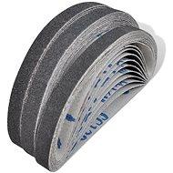 Grinding belts for pneumatic grinder 30 pcs: 10x grit 60, 10x grit 80, 10x grit 120