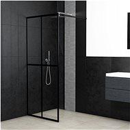 Zástěna do průchozí sprchy tvrzené sklo 90 x 195 cm - Zástěna