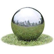 Zahradní fontána koule s LED nerezová ocel 30 cm - Fontána