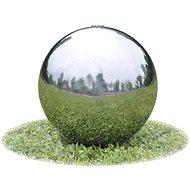 Zahradní fontána koule s LED nerezová ocel 40 cm - Fontána