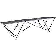 Folding Wallpapering Table MDF and Aluminium 300 x 60 x 78cm - Workbench