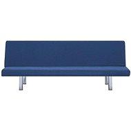 Rozkládací pohovka modrá polyester - Pohovka