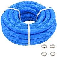Bazénová hadice se svorkami modrá 38 mm 12 m - Bazénová hadice