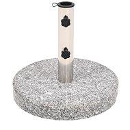 Parasol stand, round granite, 22 kg - Sun umbrella