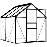 Skleník antracitový hliníkový 3,61 m2 - Skleník