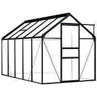Skleník antracitový hliníkový 5,89 m2 - Skleník