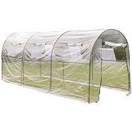 Zahradní skleník velký průchozí přenosný fóliovník - Skleník