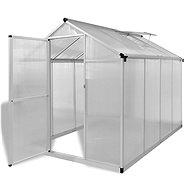 Zpevněný hliníkový skleník se základním rámem 4,6 m2 - Skleník