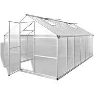 Zpěvněný hliníkový skleník se základním rámem 9,025 m2 - Skleník
