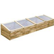 Pařeniště impregnovaná borovice 200 × 50 × 35 cm - Pařeniště