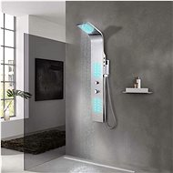 Shower panel set stainless steel rounded - Shower Panel