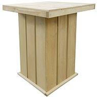 Barový stůl 75 x 75 x 110 cm impregnované borové dřevo