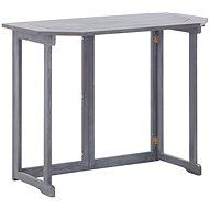 Skládací stůl na balkón 90x50x74 cm masivní akáciové dřevo - Zahradní stůl