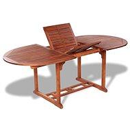 Zahradní stůl 200 x 100 x 74 cm masivní akáciové dřevo