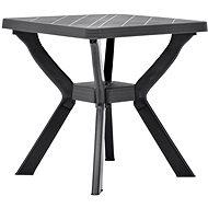 Bistro stolek antracitový 70 x 70 x 72 cm plast - Zahradní stůl