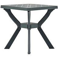Bistro stolek zelený 70 x 70 x 72 cm plast - Zahradní stůl