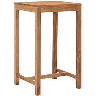 Zahradní barový stůl 60 x 60 x 105 cm masivní teakové dřevo