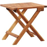 Skládací zahradní konferenční stolek 40x40x40 cm masivní akácie  - Zahradní stůl