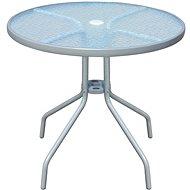 Bistro stůl šedý 80 x 71 cm ocel - Zahradní stůl
