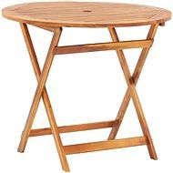 Skládací zahradní stůl 90 x 75 cm masivní akáciové dřevo