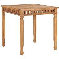 Zahradní jídelní stůl 80 x 80 x 80 cm masivní teakové dřevo - Zahradní stůl