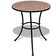 Bistro stolek terakota 60 cm mozaika - Zahradní stůl