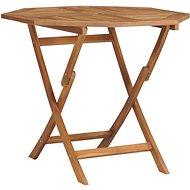 Skládací zahradní stůl 85 x 85 x 76 cm masivní teakové dřevo