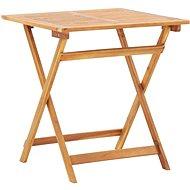 Skládací zahradní stůl 70 x 70 x 75 cm masivní akáciové dřevo