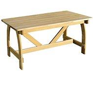 Zahradní stůl 150 x 74 x 75 cm impregnované borové dřevo