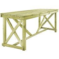Zahradní stůl 160 x 79 x 75 cm dřevo