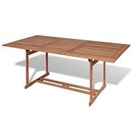 Zahradní stůl 180 x 90 x 75 cm masivní teakové dřevo - Zahradní stůl