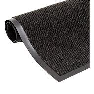 Protiprachová obdélníková rohožka všívaná 120x180 cm černá - Rohožka