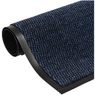 Protiprachová obdélníková rohožka všívaná 60x90cm modrá