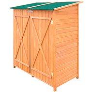 Dřevěná zahradní kůlna na nářadí s velkým úložným prostorem - Zahradní domek