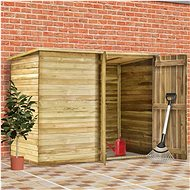 Zahradní domek / kůlna 232 x 110 x 170 cm impregnovaná borovice - Zahradní domek