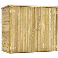 Zahradní kůlna na nářadí 135x60x123 cm impregnovaná borovice