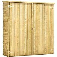 Zahradní kůlna na nářadí 163x50x171 cm impregnovaná borovice