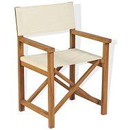 Skládací režisérská židle masivní akácie 43801 - Zahradní židle