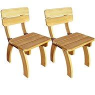 Zahradní židle 2 ks impregnované borové dřevo 273755 - Zahradní židle