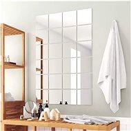 Mirror Tiles, 24 pcs, Square, Glass