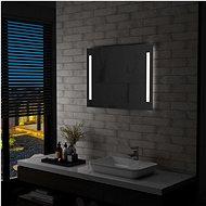 Bathroom Wall Mirror with LED Lighting 80 x 60cm - Mirror