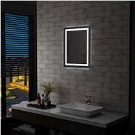 Bathroom Mirror with LED Lights and Touch Sensor 50 x 60cm - Mirror
