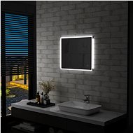Bathroom Mirror with LED Lights and Touch Sensor 60 x 50cm - Mirror