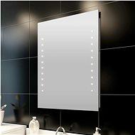 Bathroom Mirror with Wall LEDs 50 x 60cm (L x H) - Mirror