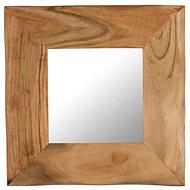 Cosmetic Mirror 50 x 50cm Solid Acacia Wood - Mirror