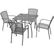 Zahradní nábytek 5dílný zahradní jídelní set ocelový antracitový 42707 42707