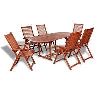 7dílný zahradní jídelní set masivní akáciové dřevo 41814 41814 - Zahradní nábytek
