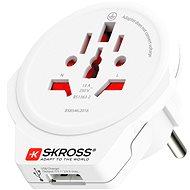 SKROSS WORLD TO EUROPE USB PA30USB - Cestovní adaptér